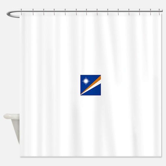 Flag of the Marshall Islands Shower Curtain
