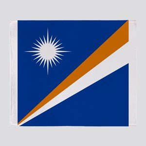 Flag of the Marshall Islands Throw Blanket