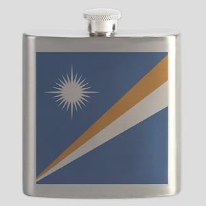 Flag of the Marshall Islands Flask