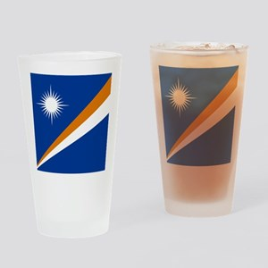 Flag of the Marshall Islands Drinking Glass