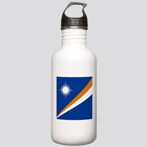 Flag of the Marshall Islands Sports Water Bottle