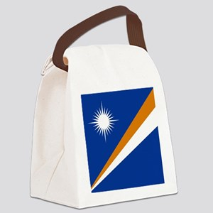 Flag of the Marshall Islands Canvas Lunch Bag