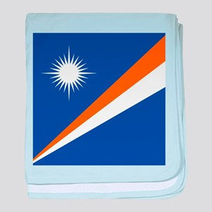 Flag of the Marshall Islands baby blanket