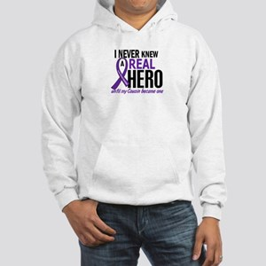 Cystic Fibrosis Real Hero 2 Hooded Sweatshirt