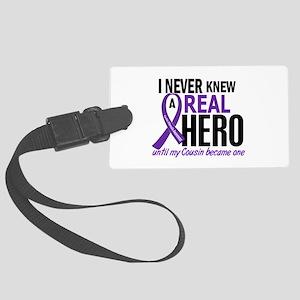Cystic Fibrosis Real Hero 2 Large Luggage Tag
