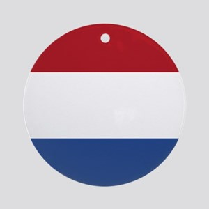 Flag of the Netherlands Ornament (Round)