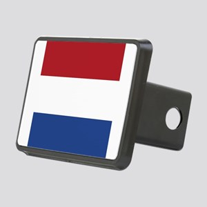 Flag of the Netherlands Rectangular Hitch Cover