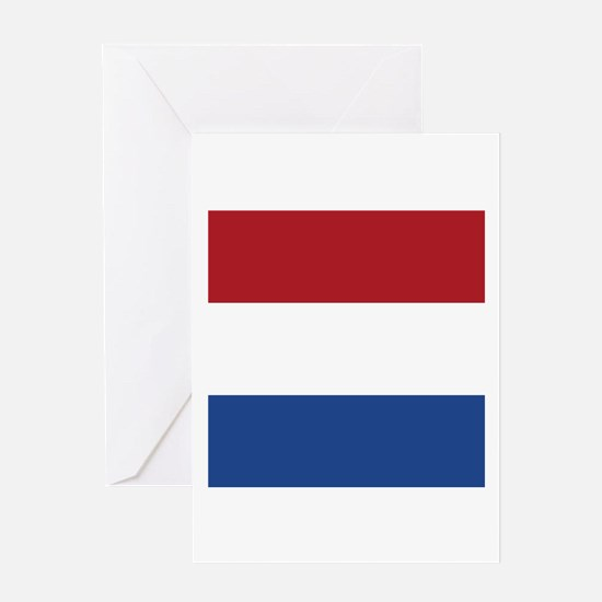 Flag of the Netherlands Greeting Cards