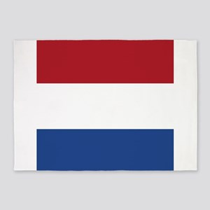 Flag of the Netherlands 5'x7'Area Rug