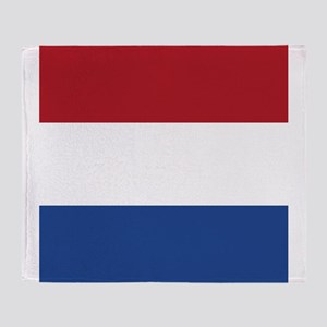 Flag of the Netherlands Throw Blanket
