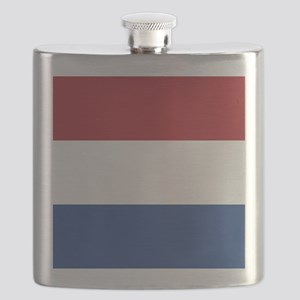 Flag of the Netherlands Flask