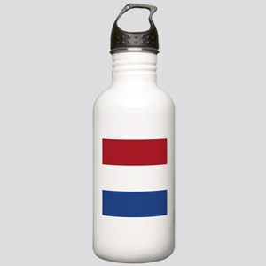Flag of the Netherlands Sports Water Bottle