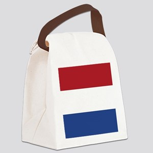 Flag of the Netherlands Canvas Lunch Bag