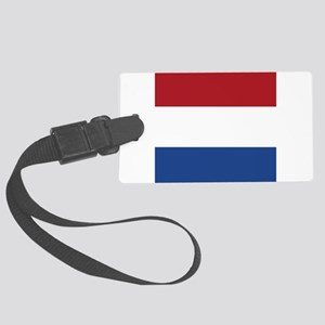 Flag of the Netherlands Large Luggage Tag