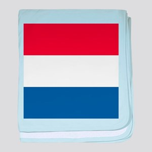 Flag of the Netherlands baby blanket
