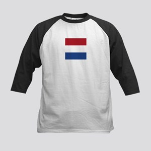 Flag of the Netherlands Baseball Jersey