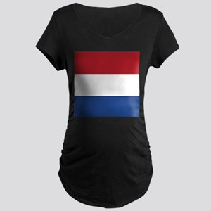 Flag of the Netherlands Maternity T-Shirt
