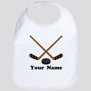 Personalized Hockey Baby Bib