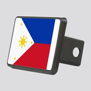 Flag of the Philippines Rectangular Hitch Cover