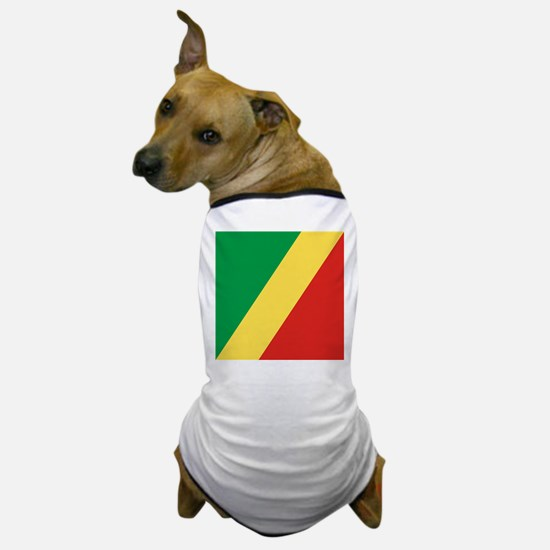 Flag of the Republic of the Congo Dog T-Shirt