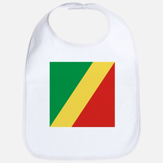 Flag of the Republic of the Congo Bib