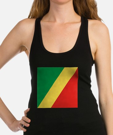 Flag of the Republic of the Congo Racerback Tank T