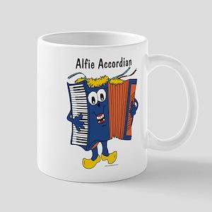 Alfie Accordian Mug