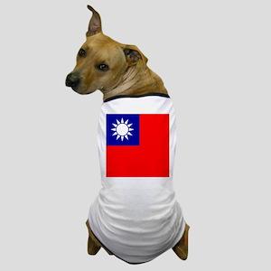 Flag of Taiwan Dog T-Shirt