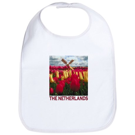 Netherlands Tulips Bib