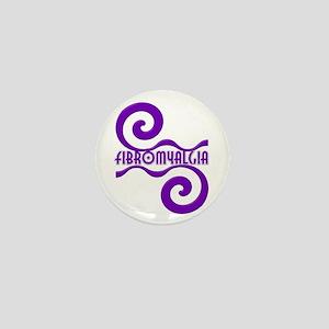 Fibromyalgia Unique By Candidog Mini Button