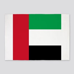 Flag of the United Arab Emirates 5'x7'Area Rug