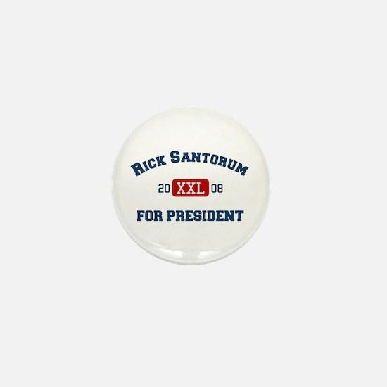 Rick Santorum for President Mini Button