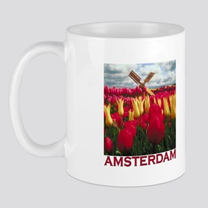 Amsterdam Tulips Mug