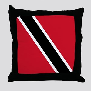 Flag of Trinidad and Tobago Throw Pillow
