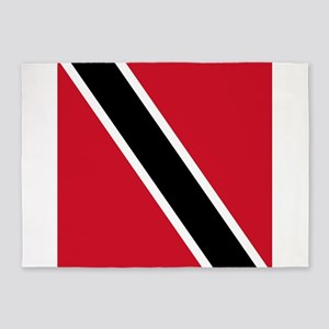 Flag of Trinidad and Tobago 5'x7'Area Rug