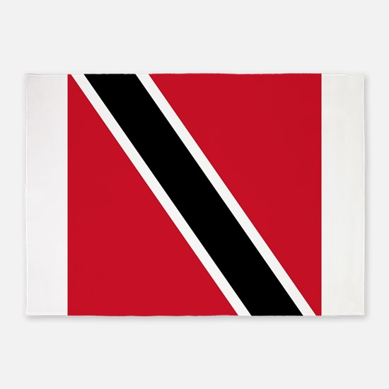 Flag of Trinidad and Tobago 5'x7'Area Rug