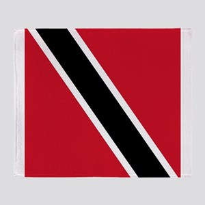 Flag of Trinidad and Tobago Throw Blanket