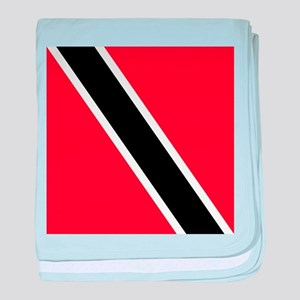 Flag of Trinidad and Tobago baby blanket