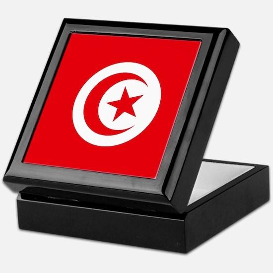 Flag of Tunisia Keepsake Box