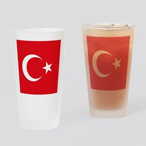 Flag of Turkey Drinking Glass
