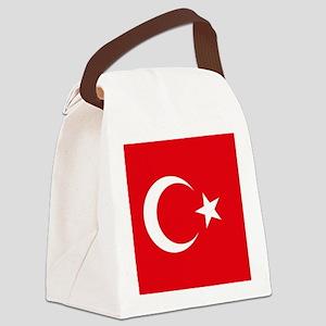 Flag of Turkey Canvas Lunch Bag