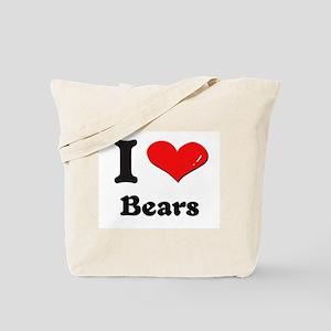 I love bears Tote Bag