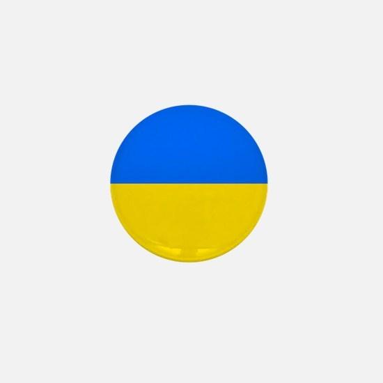 Flag of Ukraine Mini Button