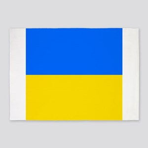 Flag of Ukraine 5'x7'Area Rug