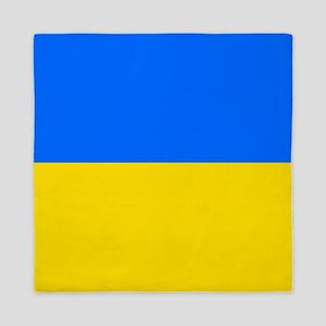 Flag of Ukraine Queen Duvet