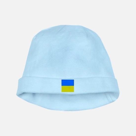 Flag of Ukraine baby hat