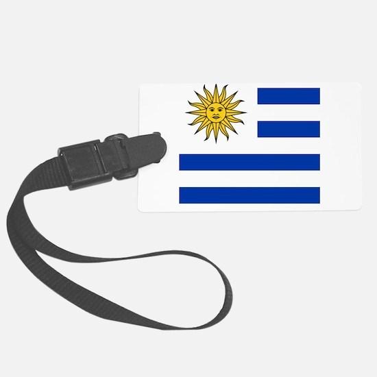 Flag of Uruguay Luggage Tag