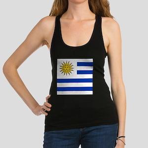 Flag of Uruguay Racerback Tank Top