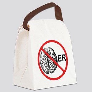 Its a No Brainer Canvas Lunch Bag