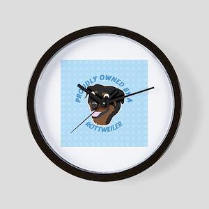 Rotty Wall Clock